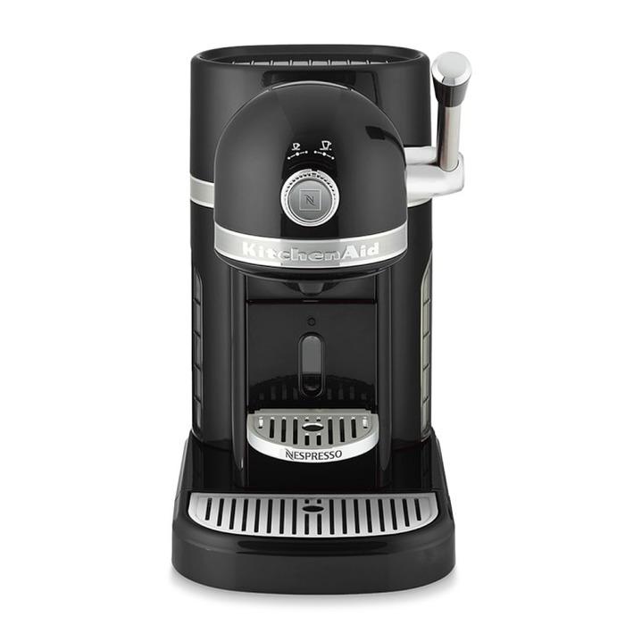 kitchenaid nespresso black. kitchenaid® nespresso - onyx black kitchenaid m